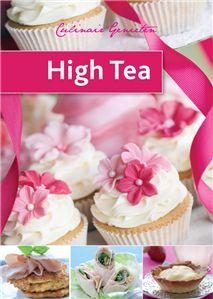 HIGH TEA - Betjeman and Barton; een boekje van 64 pagina's met tips, trucs en heerlijke recepten voor een afternoon tea.