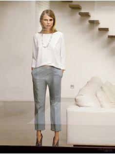 Burda Style Free pattern :Pantaloni 7/8