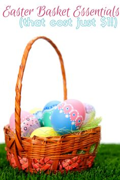 35 cheap easter basket filler items cheap easter baskets easter stock up on these dollar essentials for a cheap easter basket these easter basket ideas negle Images