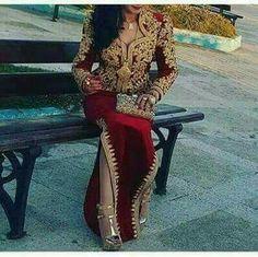 Fashion Arabic Style   Illustration   Description   Karakou Algerois #algeriantraditionaldresses #Algérie #الجزائر #Algeria    – Read More –