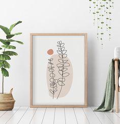 Cactus Wall Art, Cactus Print, Digital Print, Plant Drawing, Poster Prints, Art Prints, Animal Decor, Watercolor Print, Printable Wall Art