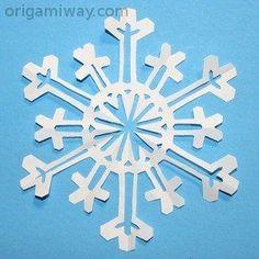 Snowflake Pattern 18