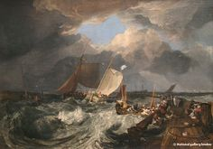 Le port de Calais - JMW Turner