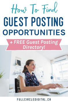 Interested in guest blogging on some other websites? Find out how to find the best guest posting opportunities and get access to this free guest posting directory. Make sure to also read about the benefits of contributing a guest post to various sites. Get access now! #guestblogging #guestposting #guestpost
