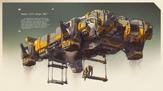 ArtStation - Heavy-lift cargo vehicle, Ivan Laliashvili
