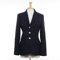 Ralph Lauren Navy School Boy Blazer Size: 6/M $35.00 stacksonracks.com
