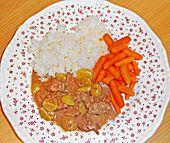 Geflügelleber mit Trauben| Chefkoch.de - Chicken Livers with Grapes