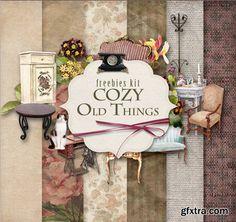 Scrap Kit - Old Cozy Things, part 2
