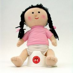 Potty Doll - In boy and girl versions, this anatomically correct doll will delight toddlers and young kids and help in them learning to go diaper free.