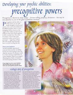 Divination:  Developing Your Psychic Abilities:  #Precognitive #Powers.