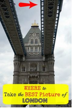 Read here for the location that is the place to take the best picture in London at the Tower Bridge Exhibition
