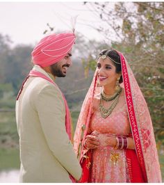 6 Non-Cheesy Ways To Coordinate Bride & Groom Outfits! - The Urban Guide Groom Wear, Groom Outfit, Bride Groom, Indian Wedding Photography, Photography Couples, Photography Ideas, Peach Gown, Yellow Lehenga, Wedding Function