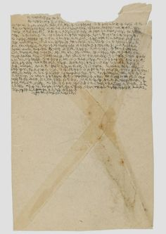 notas manuscritas de Robert Walser
