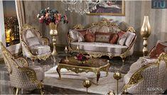 Jual Kursi Tamu Jakarta Ukir - Furniture Jepara - Furniture Jepara Luxury Sofa, Luxury Furniture, Furniture Design, Luxury Dining Room, Luxury Living, Victorian Sofa, Living Room Decor On A Budget, Antique Sofa, Bedding Sets