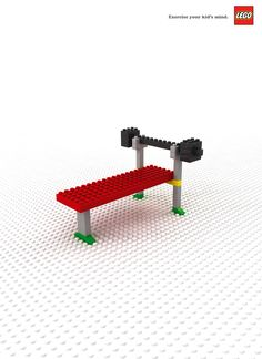 #Lego - Exercise your kid's mind. #Ad #Print