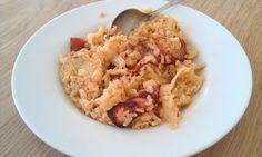 Ricetta veloce del risotto con carciofi e speck   Ricette di ButtaLaPasta