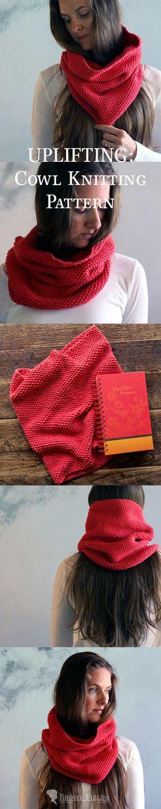 UPLIFTING: Cowl Knitting Pattern