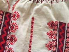 Hand-Embroidered Blouse detail -  Bulgaria