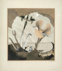 Hannah Höch, Am Nil I, 1934, Collage, Galerie Berinson, Berlin