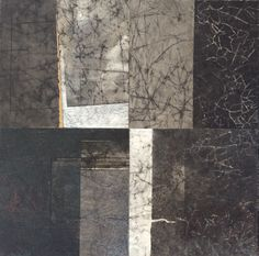 Four small collages 60x60cm