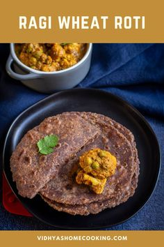 Make some delicious and healthy ragi and wheat roti, and pair it with curry of your choice for a perfect lunch or dinner! Incorporating ragi or finger millet in your daily diet has never been easy! #ragiroti #milletrecipes Amazing Vegetarian Recipes, Delicious Vegan Recipes, Vegan Vegetarian, Millet Recipes, Roti Recipe, Vegetarian Appetizers, Vegan Dishes, Plant Based Recipes, Finger