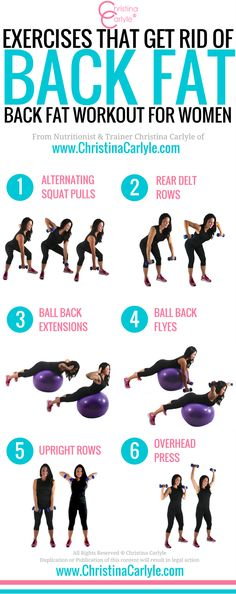 Exercises that Get Rid of Back Fat
