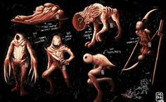 Silent hill creatures