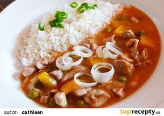 Chana Masala, Thai Red Curry, Chili, Soup, Ethnic Recipes, Red Peppers, Chile, Soups, Chilis