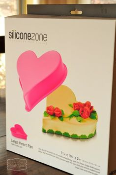 Enter to win a Silicon Zone heart shaped pan at Real Moms Real Views.  Ends Feb 24, 2014
