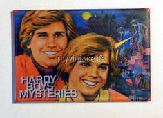 "Vintage HARDY BOYS MYSTERIES Lunchbox 2"" x 3"" Fridge MAGNET"