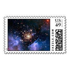 Star Cluster NGC 3603 (Hubble) Postage  from The Astronomy Gift Shop on Zazzle. This space image is also available on many other products. Image is from NASA - see product page for detailed image credit.