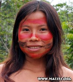 The Matsés people (commonly called Mayorunas in Brazil)