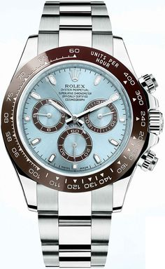 If only I could afford one of these. Rolex Cosmograph Daytona Platinum 116506
