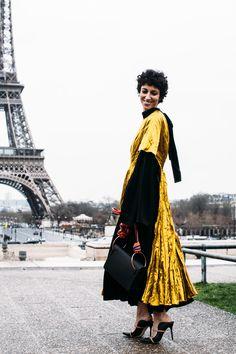 Paris Fashion Week Fall 2017 Street Style Day 7 Cont., Paris Fashion Week, PFW, Runway, TheImpression.com - Fashion news, runway, street style, models