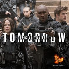 Are you ready? The official #MockingjayPart2 trailer arrives TOMORROW!
