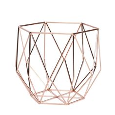 Copper metal basket available at se3.co.nz