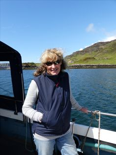Tessa on Isle of Ulva Fight For Your Dreams, Biologist, Dreaming Of You