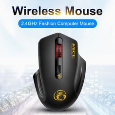 Computer Accessories HA 2.4GHz Innovative Pen-Style Handheld Wireless Smart Mouse for PC Laptop Color : Blue Grey