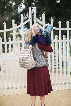 PacaPod Hastings Diaper Bag via @cisola. A backpack diaper bag to keep you hands free so you can be hands-on.