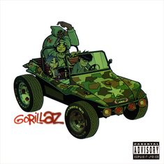 Gorillaz Gorillaz on Gorillaz is the self-titled debut album from the world's most famous virtual hip-hop group created by Damon Albarn of the alternative rock band Blur and Jamie Hewlett, Damon Albarn, Jamie Hewlett, Gorillaz Albums, Gorillaz Art, Russel Hobbs, Tank Girl, Clint Eastwood, Rock Am Ring, Rock Music