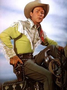 Roy Rogers, western actor, born in Cincinnati, Ohio. ------  I was lucky enough to have met him a few times when he would come to town, such a sweet man and his son is too
