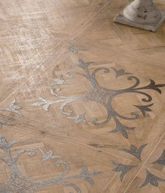 Porcelain stoneware wall/floor tiles with #wood effect by Ariana Ceramica Italiana