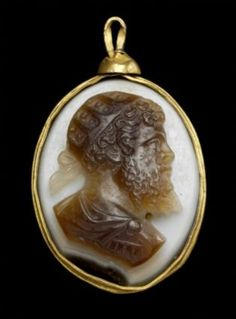 Cameo with portrait bust of Septimius Severus  Roman, Imperial Period, late 2nd–3rd century
