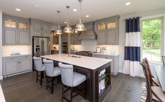 5 Kitchen Design Trends to Take From Model Homes #www.outerbankscoastalcottages.com