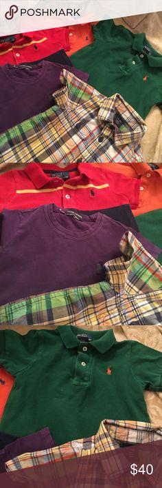 5 Polo by Ralph Lauren shirts Ralph Lauren shirts Ralph Lauren Shirts & Tops Polos