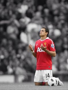 seeing Chicharito play at the world cup or at Manchester United would be awesome.