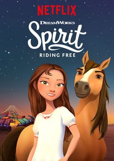 Spirit Riding Free Spirit and Lucky