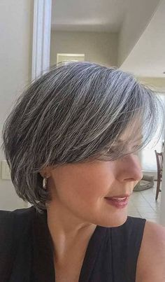 New Bob Haircuts 2019 & Bob Hairstyles 25 Bob Hair Trends for Women - Hairstyles Trends Latest Short Hairstyles, Short Bob Haircuts, Short Hairstyles For Women, Gray Hairstyles, 2018 Haircuts, Hairstyles 2016, Summer Hairstyles, Bobs For Thin Hair, Trending Haircuts