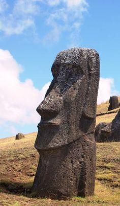 Moai Statue ~ located on Easter Island