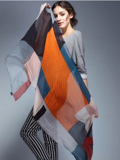 #fashion #scarves #womenswear #silkscarf New silk scarf Today.100% Silk with Simple Pattern http://www.seres-silk.com